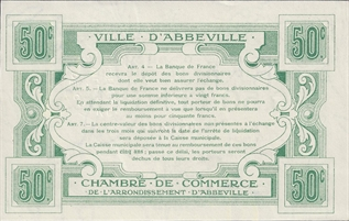 Autres papiers monnaies - Chambre de commerce pontoise ...
